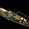 Machetas hechas - Messerschmitt Bf 109 1/48 Vista lateral final