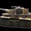 Maquetas hechas - Panzer VI Tiger 1/35 Vista lateral